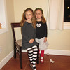 The girls dressed for their first trip to the Ballet.  The Eugene Ballet Company came to town & performed Swan Lake - they loved it!