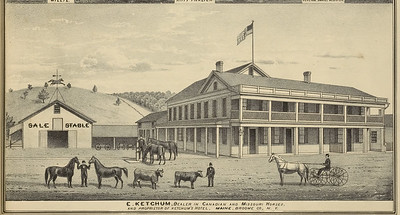 Ketchum Hotel - owned by the parents of Lala Ketchum - first wife of Henry Marean.