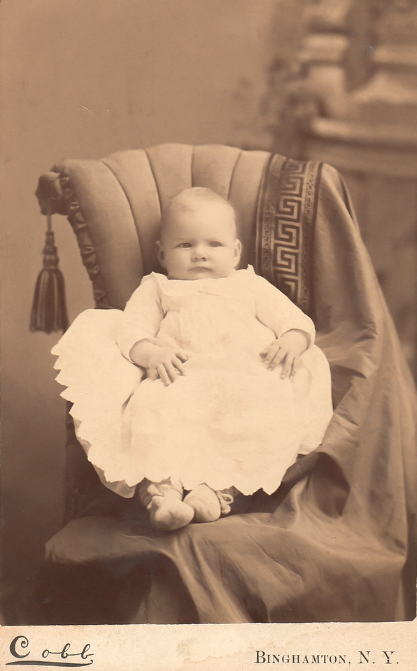 Mabel White Treadwell to be Marean as a baby
