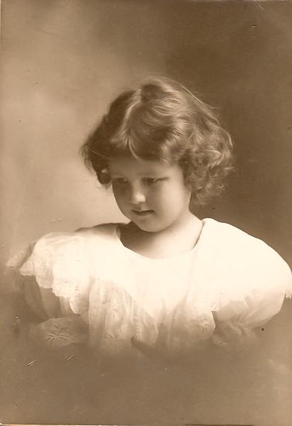 Elizabeth Sherwood Beach Age 4