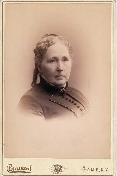 Charlotte White Roberts was the daughter of Noah White, and the wife of William Roberts