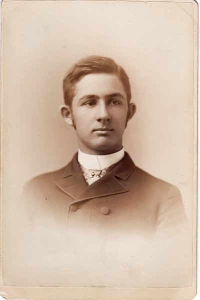 "Edward ""Ned"" A Roberts, son of William and Charlotte Roberts, and brother of Charlotte White Roberts Treadwell"