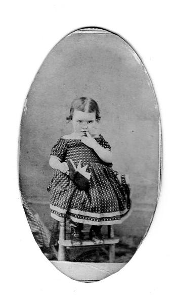 Fanny Roberts - 3 1/2 yrs old