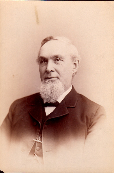 William Roberts, Husband of Charlotte L. White Roberts, and owner of the Roberts Pottery in Binghamton, NY