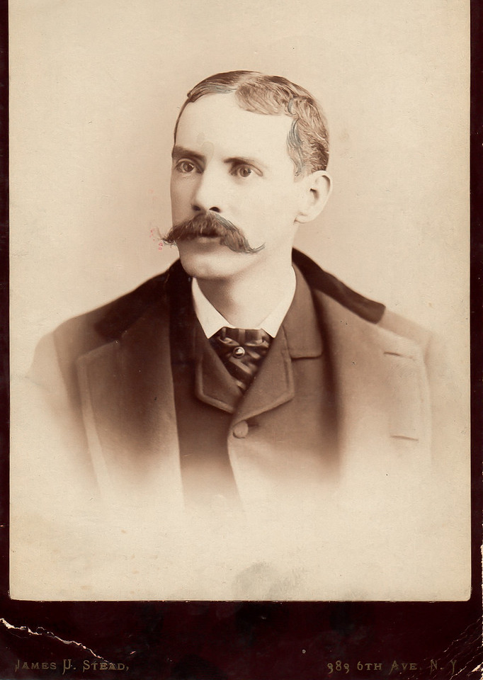 "Albert ""Bert"" A. Roberts, son of William and Charlotte Roberts, and brother of Charlotte White Roberts Treadwell"