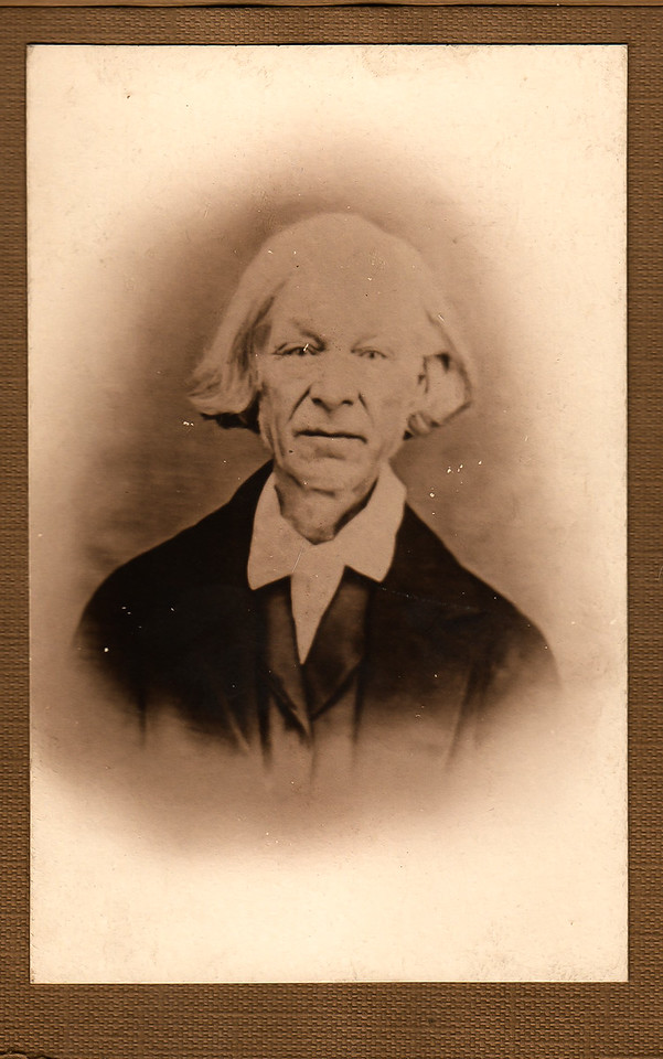 Noah White - Father of Charlotte L White, and the founder of the Whites Pottery of Utica, NY