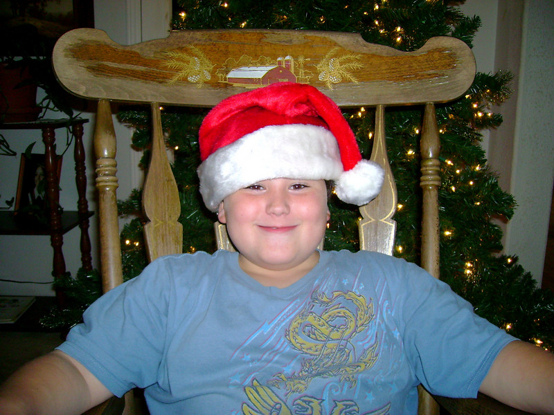 Nicholas Kirbow Age 8 (Margarets youngest son)