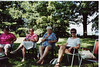 BBQ Party at Barb Ransom's cottage for Holiday Inn Group1998