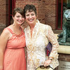 Maria and Laura at Maria's Honor's Luncheon the day before graduating from College of Charleston.