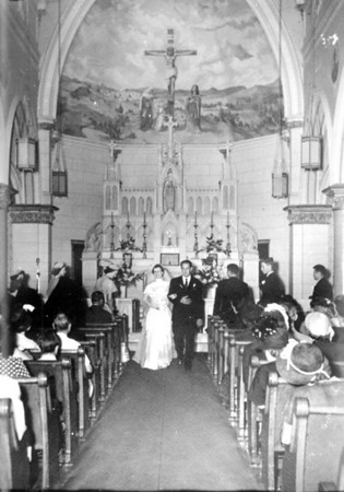 Walter 'Rip' Smock and Maria Jacob Wedding September 9, 1950