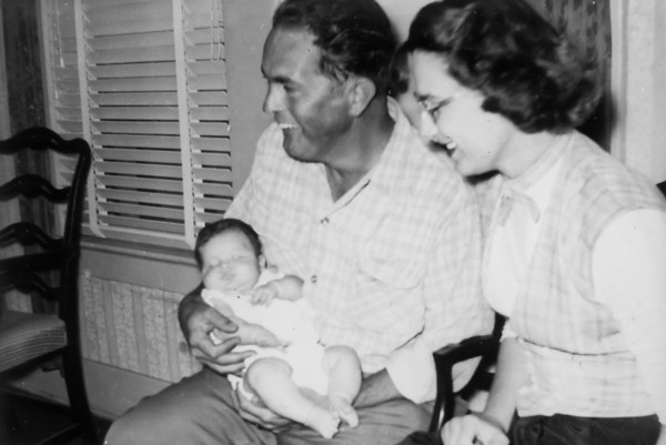 Rip and Maria with Jan November 4, 1951
