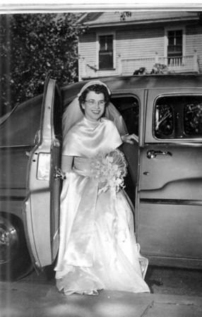 Walter 'Rip' Smock and Maria Jacob Wedding September 9, 1950