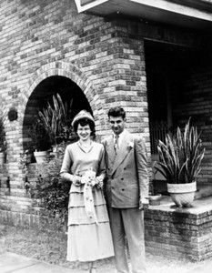 Teddy Jacob and Ed Gutowsky Wedding April 23, 1949