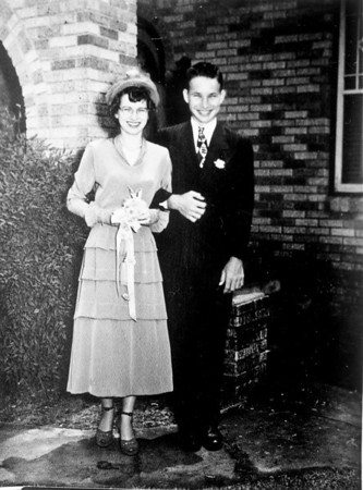 Teddy Jacob and Ed Gutowsky Wedding April 23, 1949