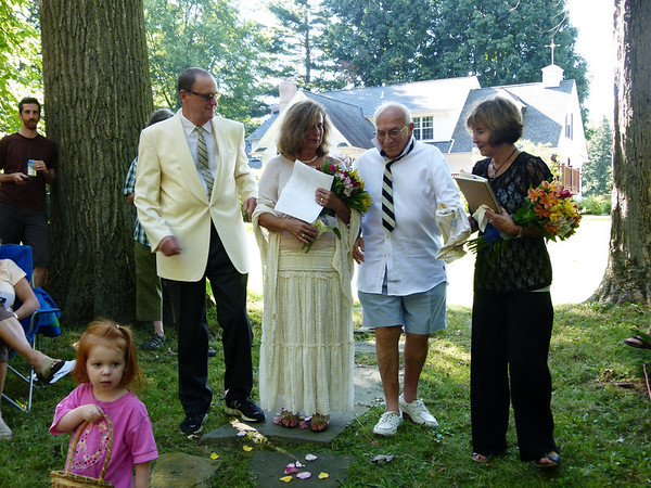 Marilyn and Michael's Second Wedding Aug 27,  2011