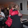 The sisters share a hug.....
