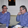 Good friends, Richard and Peter (Lori's husband)....
