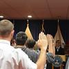 Swearing the oath