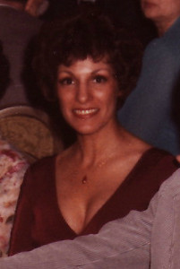 Shirl at Karl and Cindy's wedding.  She looks beautiful.