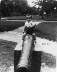 "Aunt JoAnn's 2nd born, Edwin Schwartz.  Born:  1940  Photo taken in Patterson Park in Baltimore around 1940 or 41.  The Marino's always called him ""big"" Ed as we also had an Ed in our family as well."