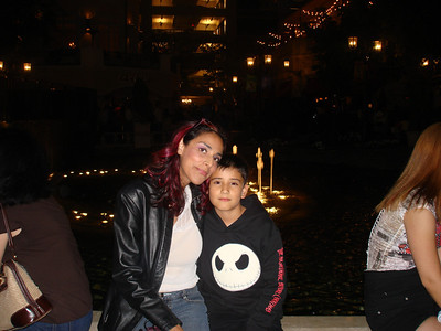 At the Grove in LA  Tia & Cesar
