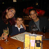 Just back from LAX first dinner at Saddle Ranch on Sunset Blvd<br />  Aunty,Cesar and Mario August 09