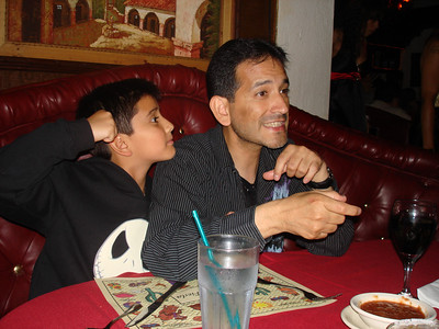 Lovely!!!Father & Son Cesar y Papa @ El Compadre on Sunset