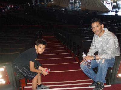 Cesar & Mario @ Gibson Amphitheater Universal Studios Thank U Jake!