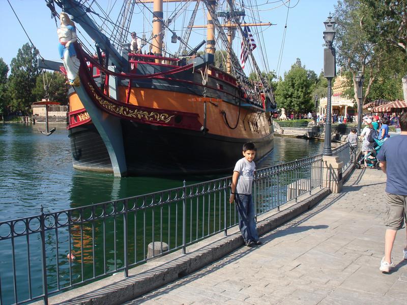 Cesar at Disney August 09