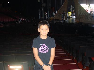 Cesar  @ Gibson Amphitheater Universal Studios Thank U Jake!