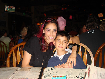 Cesar and Tia @ Saddle Ranch on Sunset Strip August 09