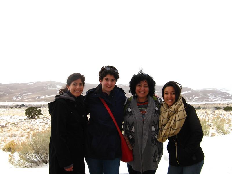Lisa, Marisa, Christine and Marla.