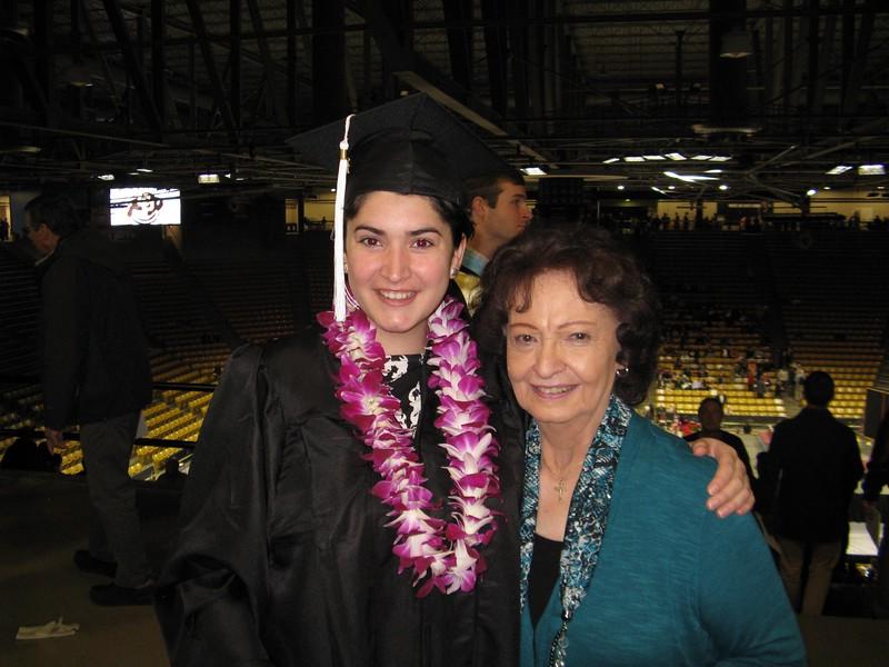 Marissa and her Grandma.