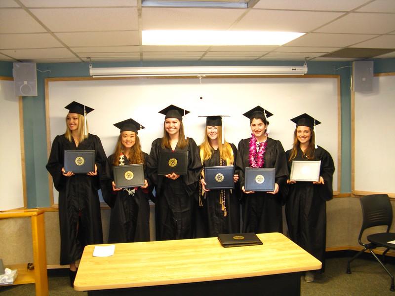 The winter 2015 SLHS graduates.