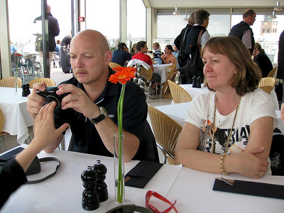 Mark, Gitte, Bengt - visiting 2009