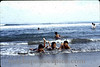 Candon Baptism kids in ocean