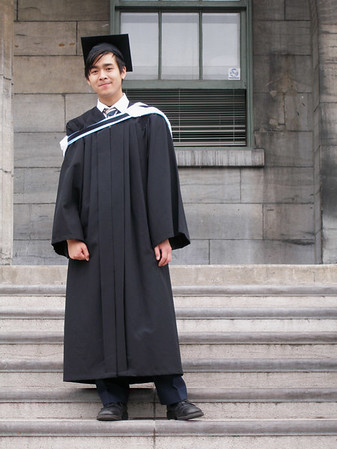 Mark's Graduation