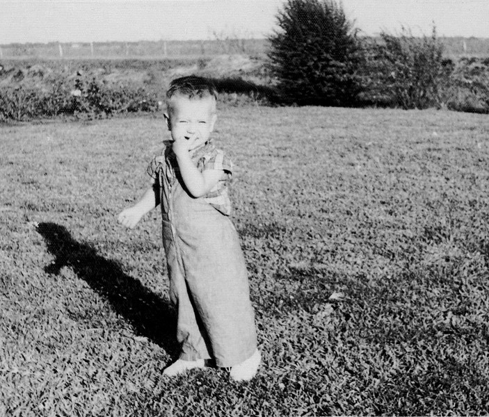 At the farm - about 18 months