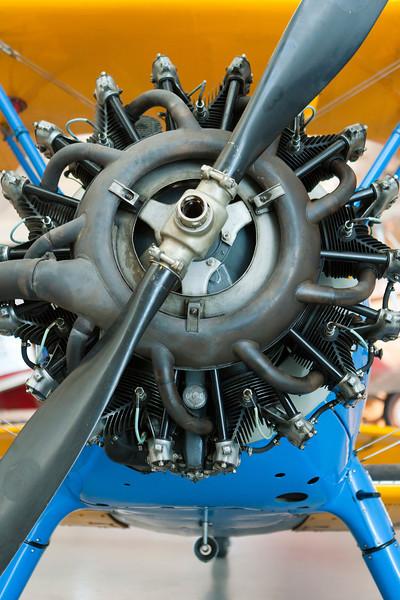 Just a cool rotary engine. Udvar-Hazy Air & Space Museum. Digital, Washington, DC, March 2014. Ed