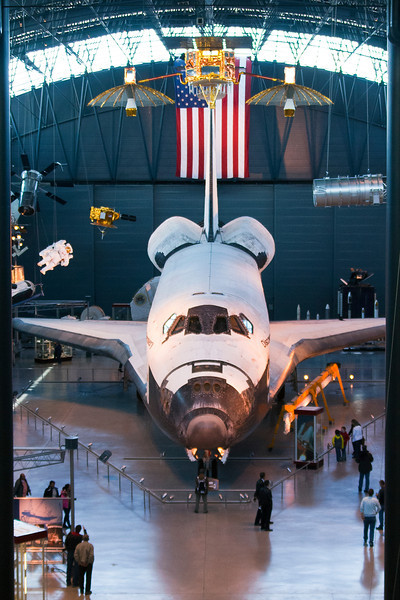 Space shuttle Discovery. Udvar-Hazy Air & Space Museum. Digital, Washington, DC, March 2014. Mark