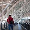 Taking the long way around the Udvar-Hazy Air & Space Museum. Digital, Washington, DC, March 2014. Ed