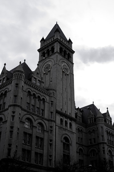 The old Post Office building in downtown DC. Digital, Washington, DC, March 2014. Mark