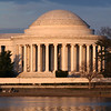 Jefferson Memorial at sunset. Digital, Washington, DC, March 2014. Mark