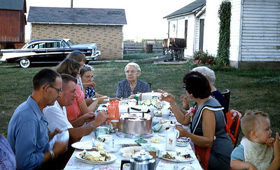 G Aunt Belle's Birthday 1957