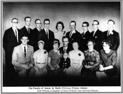 James & Ruth Tyron-Adams Family