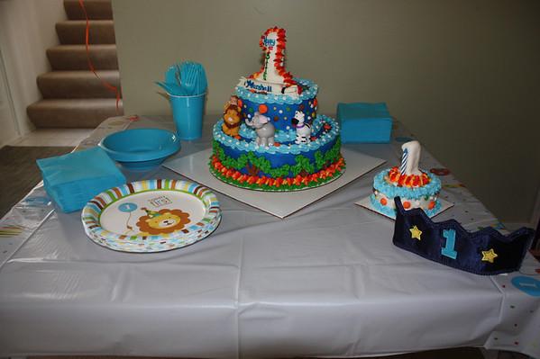 Marshall's 1st Birthday