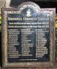 G W  Fisher Rawtenstall Coroporation Tramways WW1 Plaque at Weavers Cpottage Rawtenstall