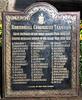 G W  Fisher Rawtenstall Coroporation Tramways WW1 Plaque