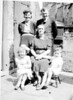 Rhoda Barbara Richard Lowe martha Cecil Fisher 323 Burnley Road abt 1942/3