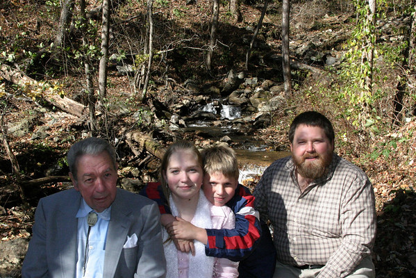 2005 11.29 Thanksgiving in Dahlonega GA